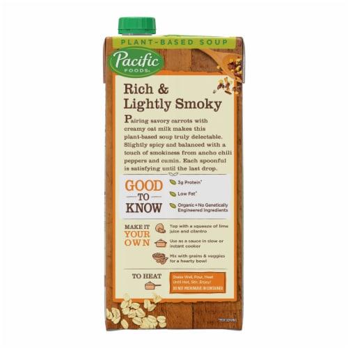 Pacific Foods Organic Oat Milk Cumin Carrot Soup Perspective: top