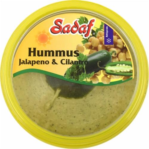 Sadaf Hummus With Jalapeno & Cilantro Perspective: top