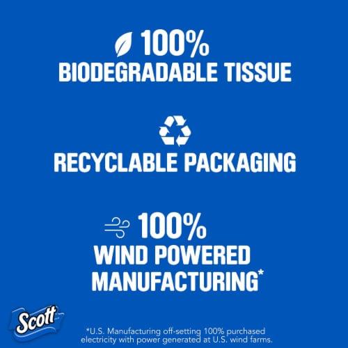 Scott 1000 Sheets Per Roll Bath Tissue Perspective: top