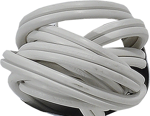 Prime 3-Outlet Household Extension Cord - White Perspective: top