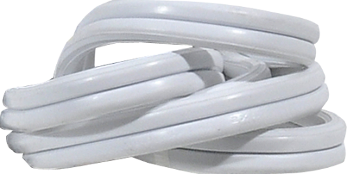 Prime SnugPlug Extension Cord - White Perspective: top