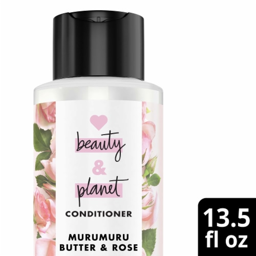 Love Beauty and Planet Blooming Color Murumuru Butter & Rose Conditioner Perspective: top