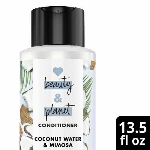 Love Beauty and Planet Volume and Bounty Coconut Water & Mimosa Flower Conditioner Perspective: top