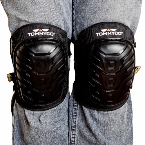 Tommyco® Gelite Hard Terrain Knee Pads - Black Perspective: top