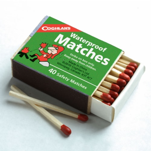 Coghlan's Waterproof Matches 160 Pack Perspective: top