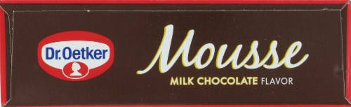 Dr. Oetker Milk Chocolate Mousse Mix Perspective: top