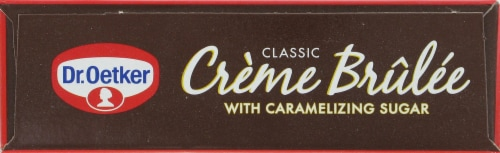 Dr. Oetker Classic Creme Brulee Perspective: top