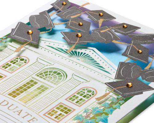 Papyrus Graduation Card (Bright Future) Perspective: top