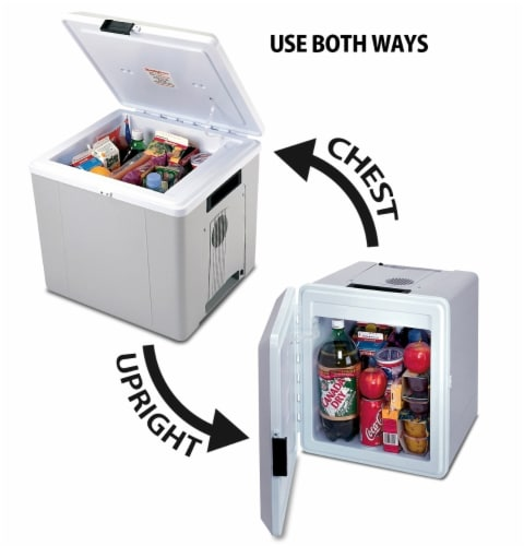 Koolatron 12V Voyager P27 Large Capacity Travel Cooler Perspective: top