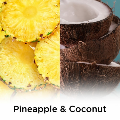 Air Wick Essential Oils Coconut & Pineapple Refills Perspective: top