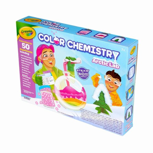 Crayola Arctic Color Chemistry Set for Kids Perspective: top