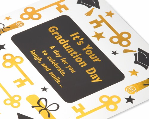 American Greetings Jumbo Graduation Card (All the Best) Perspective: top