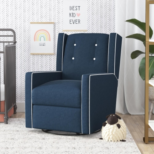 Baby Relax Mikayla Swivel Glider Recliner Chair Perspective: top