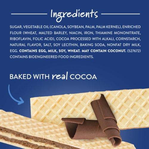 Voortman Bakery Chocolate Wafers Perspective: top