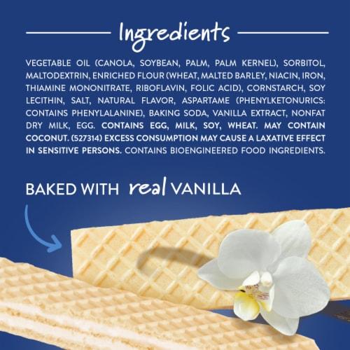 Voortman Bakery™ Sugar Free Vanilla Wafers Perspective: top