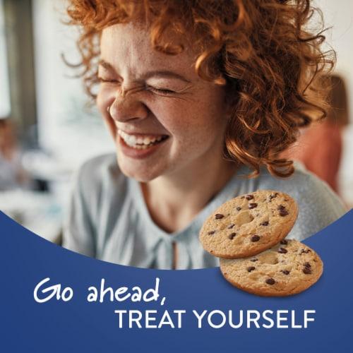 Voortman Sugar Free Chocolate Chip Cookies Perspective: top