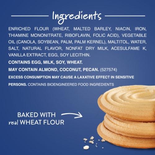 Voortman Bakery Sugar Free Shortbread Cookies Perspective: top