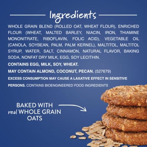 Voortman Bakery Sugar Free Oatmeal Cookies Perspective: top