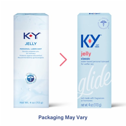 K-Y Jelly Personal Lubricant Perspective: top