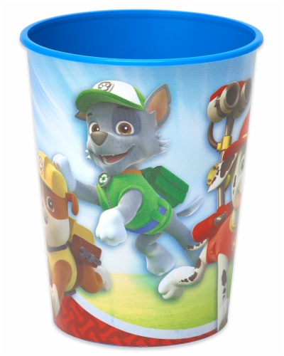 American Greetings Paw Patrol Reusable Plastic Party Cups Perspective: top