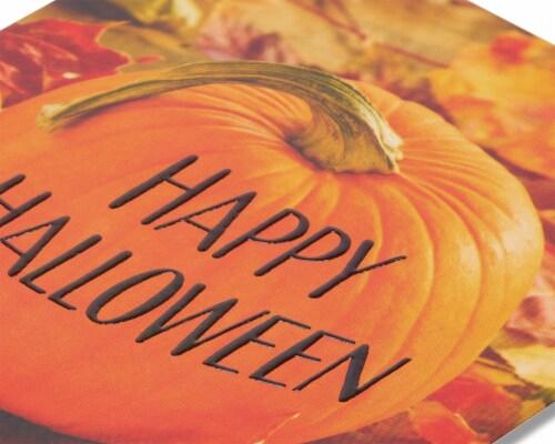 American Greetings Halloween Greeting Cards, 6-Count (Pumpkin) Perspective: top