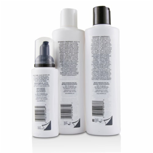 Nioxin 3D Care System Kit 6  For Chemically Treated Hair, Progressed Thinning 3pcs Perspective: top