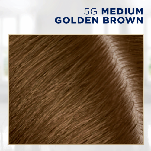 Clairol Permanent 5G Medium Golden Brown Root Touch-Up Perspective: top