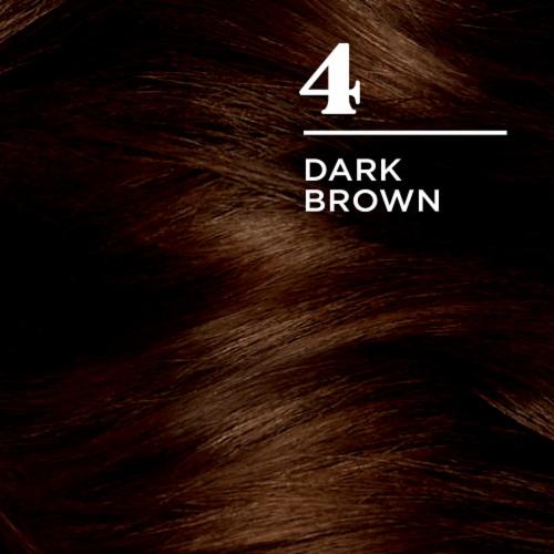 Clairol Nice'n Easy 4 Dark Brown Permanent Hair Color Perspective: top