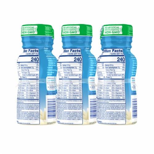 PediaSure Grow & Gain with Fiber Vanilla Ready-to-Drink Kids' Nutritional Shake Perspective: top