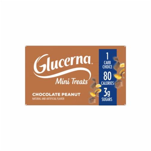 Glucerna Mini Treats Chocolate Peanut Snack Bars Perspective: top
