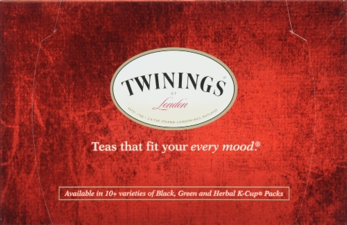 Twinings Chai K-Cup Pods Perspective: top