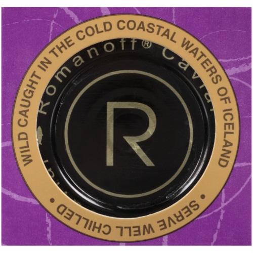 Romanoff Black Lumpfish Caviar Perspective: top