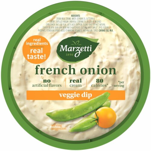 Marzetti French Onion Vegetable Dip Perspective: top