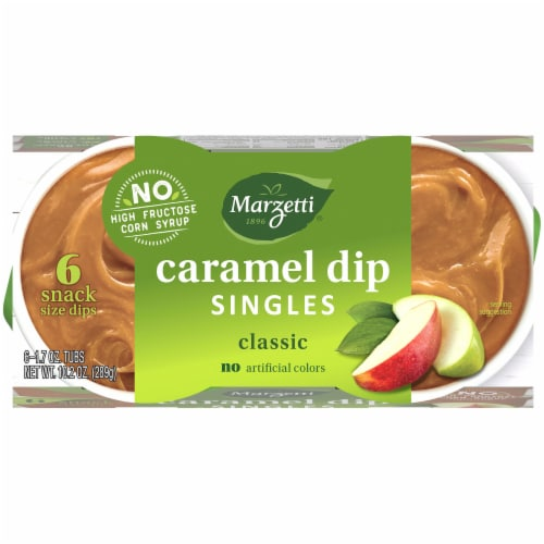 Marzetti Caramel Dip Snack Packs Perspective: top