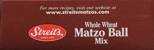 Streits Whole Wheat Matzo Ball Mix Perspective: top