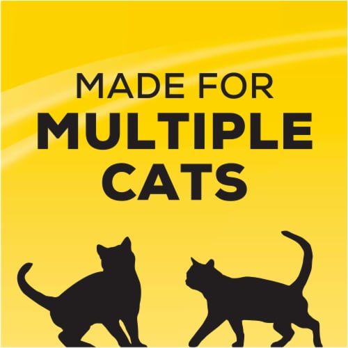 Tidy Cats 24/7 Performance Multi Cat Clumping Litter Perspective: top