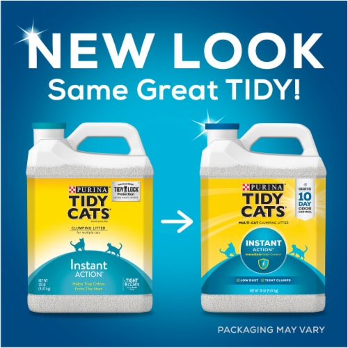 Tidy Cats Instant Action Multi Cat Clumping Litter Perspective: top