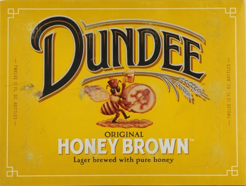 Dundee's Honey Brown Lager Perspective: top