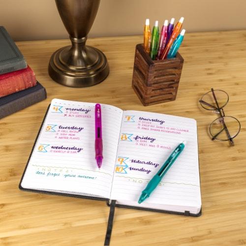 BIC Gelocity Assorted Gel Pens Wheel Perspective: top