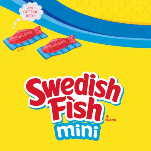 Swedish Fish Mini Soft & Chewy Candy Perspective: top