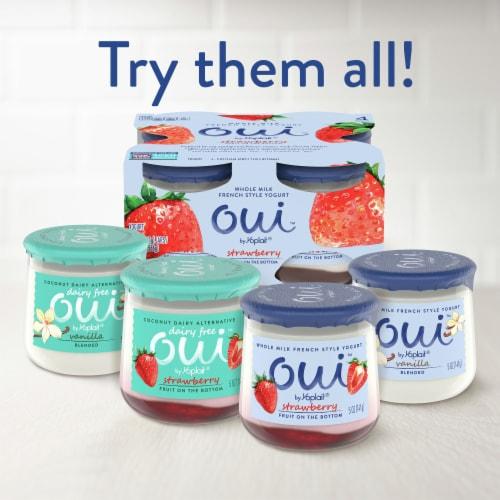 Oui by Yoplait Key Lime French Style Yogurt Perspective: top