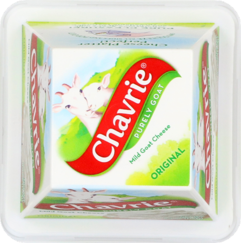 Chavrie Purely Goat Original Mild Goat Cheese Perspective: top