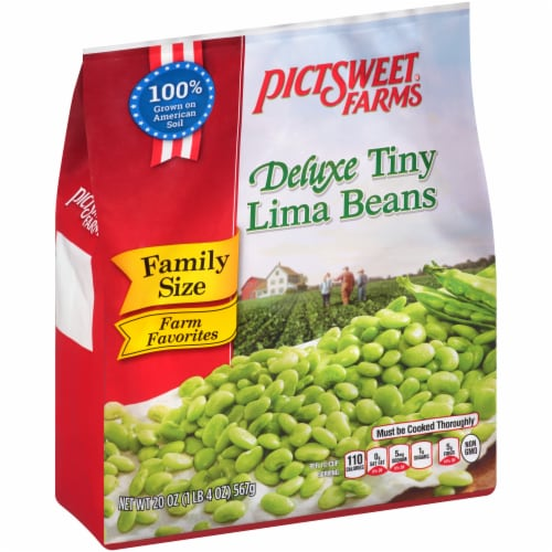 PictSweet Farms Family Size Deluxe Tiny Lima Beans Perspective: top