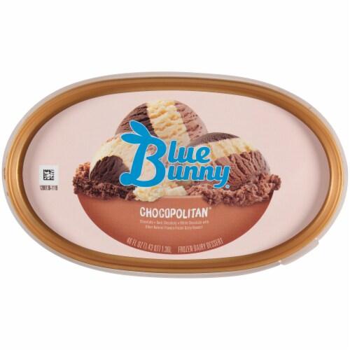 Blue Bunny Chocopolitan Ice Cream Perspective: top