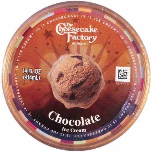 The Cheesecake Factory Chocolate Ice Cream Perspective: top