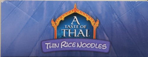 A Taste of Thai Extra Thin Noodles Perspective: top