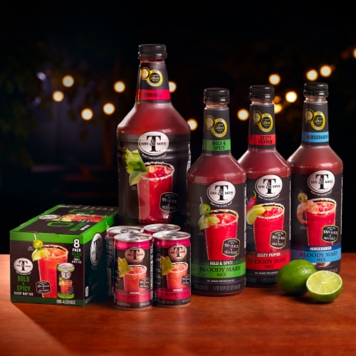 Mr & Mrs T Bold & Spicy Bloody Mary Mix Perspective: top