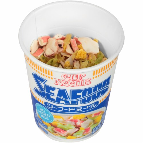 Nissin Cup Noodles Seafood Unit Perspective: top