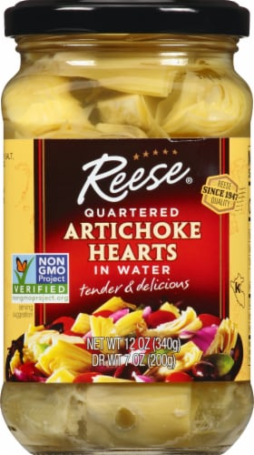 Reese Quartered Artichoke Heart Perspective: top