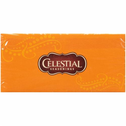 Celestial Tangerine Orange Zinger Herbal Tea Bags 20 Count Perspective: top